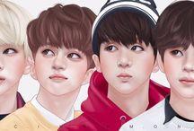 VIXX / Ravi ♥️  Leo ♥  Lee Hong-bin ♥️ N ♥️  Hyuk ♥️  Ken