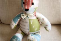 teddy bears; made and patterns