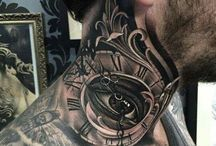 Tatuagem pescoço
