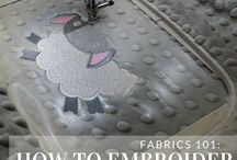 Machine Embroidery Tutorial Board / Tutorials on Stabilizing and Applique, General Techniquess