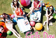 """Girl's Day / Girl's Day (Hangul: 걸스데이) is a four-member South Korean girl group under the management of Dream Tea Entertainment, a subsidiary of KOSDAQ-listed agency Wellmade Star M. The group consists of four girls who perform under the stage names of Sojin, Minah, Yura and Hyeri. Their biggest hits include """"Something"""", """"Twinkle Twinkle"""", """"Expectation"""", """"Female President"""" and """"Darling"""". Their official fanclub name is Dai5y."""