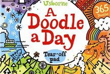 Usborne doodles / A collection of Usborne doodling books, plus some doodles from the Usborne team.