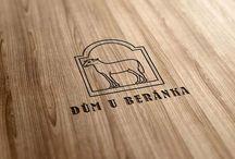 U Beranka café graphic identity