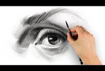 eyes referance&drawing-portrait