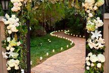 Düğün bahçesi dekarasyonu