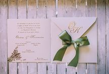 Pretty stationary / Beautiful wedding invitations and lovely stationary prosklitiria gia vaptisi