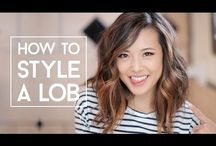 LOB ~ how to style a long bob