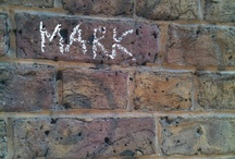 Brick walls in London that have my name written on them in chalk