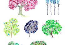 Thème arbre, automne...