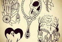 Tattoos - Ghosts and Spirits