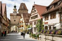 GERMANY / Rothenburg is in Germany's Medieval heartland, and is the Best preserved walled town throughout Germany.