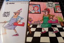 art impressions / funny cards / by Vivian Cunningham