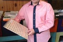 Ready to Wear - Shirts / Men's stylish shirts made from printed 100%cotton fabrics.