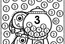 number recognition kindergarten