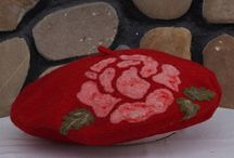 Natural Felt Wool Clothing / Natural felted wool clothing and accessories.