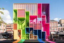 some colour in architecture