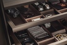 The men's closet