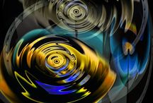 Digital Art | Abstract Art | MACROCOSM /  Abstract Art | Digital Art | MACROCOSM by Banu Haznedar