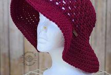 DIY: crochet sun hat