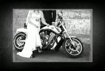 Biker Wedding | Chandler Wedding Photographer / DePoy Studios rocks out this stunning Biker Wedding! As Chandler Wedding photographers, DePoy Studios loves a themed and fun engagement session and wedding, just like this Harley-Davidson Wedding with Heather and Aubrey!