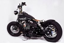 WatchXL - We love bikes / You've go motorcycles and motorcycles. We choose for the second variant