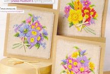 cross stitch - FLOWERS