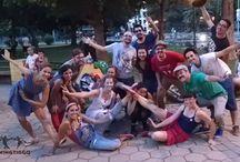 Clandestinos de lindy hop / Imagenes de bailes en plazas de todo el mundo