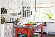 Kitchens / Kitchens are the hub of a house. Follow this board and some of our favorites!