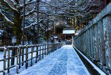 日本の冬風景