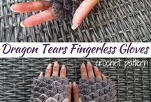Crochet Mittens and Gloves