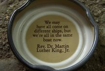 Martin Luther King Jr.  / MLK Jr. is a one my heroes! This board has the best Martin Luther King Jr. quote graphics that I found and some that I made. Enjoy! #MLK #peace #love #freedom
