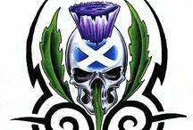 Scots skull