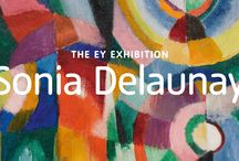 The EY Exhibition: Sonia Delaunay / The EY Exhibition: Sonia Delaunay is the first UK retrospective to assess the breadth of her vibrant artistic talent and will show how she dedicated her life to experimenting with colour and abstraction, bringing her ideas off the canvas and into the world through tapestry, textiles, mosaic and fashion.