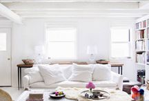 Interiors / Minimal, modern, eclectic homes
