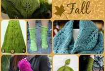 leafy knits