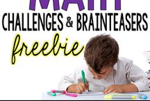 2nd grade adventures--challenges, early finishers, differentiation