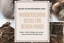 Hundedecke Wildschwein rutschfest / Wunderschöne rutschfeste Hundedecken im Wildschwein Design. Für alle kleinen und großen Vierbeiner!