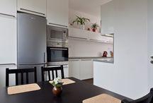 Rekonstrukce interiéru v panelovém bytě / Částečná rekonstrukce - jádro a kuchyně