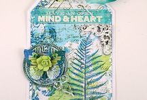 Stamping techniques / Fun stamping techniques and gorgeous stamped projects.