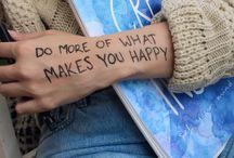 inspiration & happiness