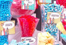 Superhero Candy Buffet