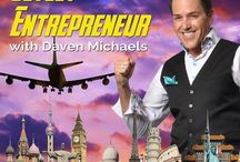 """JETSET ENTREPRENEUR / Join Daven Michaels, New York Times Best Selling author, Business Success Builder, Pioneering 'Growth Hacker,' Marketing Maestro and Global Lifestyle Entrepreneur as he travels the globe, on his big adventure called the """"Jet Set Entrepreneur."""""""