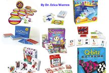 Games! {Executive Function} / A board full of great games to play to strengthen executive functioning skills at home and in the classroom.