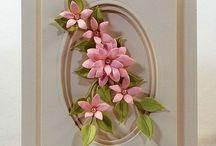 Cards ~ 3D Butterflies, Flowers