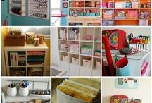 taller  / ideas para lugar de trabajo lindo y organizado