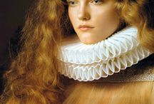 Renaissance beauty / Delicate yet Empowering. Celebrating the beauty of a woman. From early renaissance art as an influence. Stunning Firey Auburn Hair, with a youthful make-up, pinched cheeks and lips to give a pink flush.