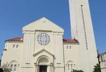 Cathédrale Ste Marie / La cathédrale Sainte-Marie de #Conakry est une cathédrale construite à partir de 1928. Elle est le siège de l'archidiocèse de Conakry, en #Guinée. #VoyageGuinée, excursions à Conakry.