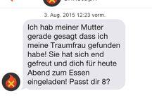TinderWahnsinn / Ein Medley der lustigsten Dating Konversationen im deutschen Raum und mehr