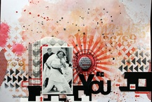 Pages Gwen / scrapbooking page layout