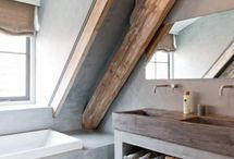 bathroom (attic)